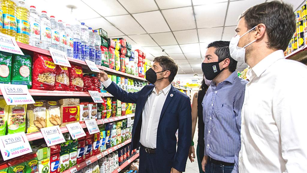 """AXEL KICILLOF LANZÓ """"COMPRÁ MÁS CERCA"""": ¿Cómo estabilizará los precios?"""