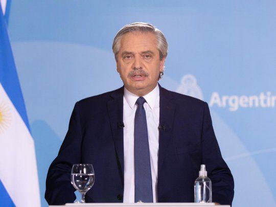 Alberto Fernández restricciones