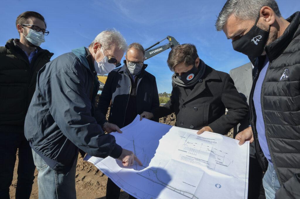 Axel Kicillof presentó nueva infraestructura en Tres de Febrero y Hurlingham