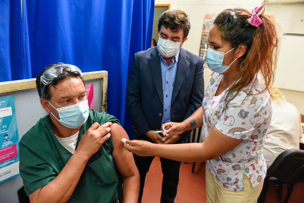 La Matanza vacunación