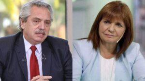 No hubo quorum entre Alberto Fernández y Patricia Bullrich
