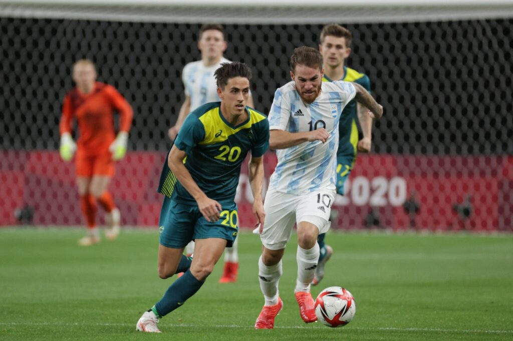 JUEGOS OLÍMPICOS: traspié de Argentina en el estreno con Australia