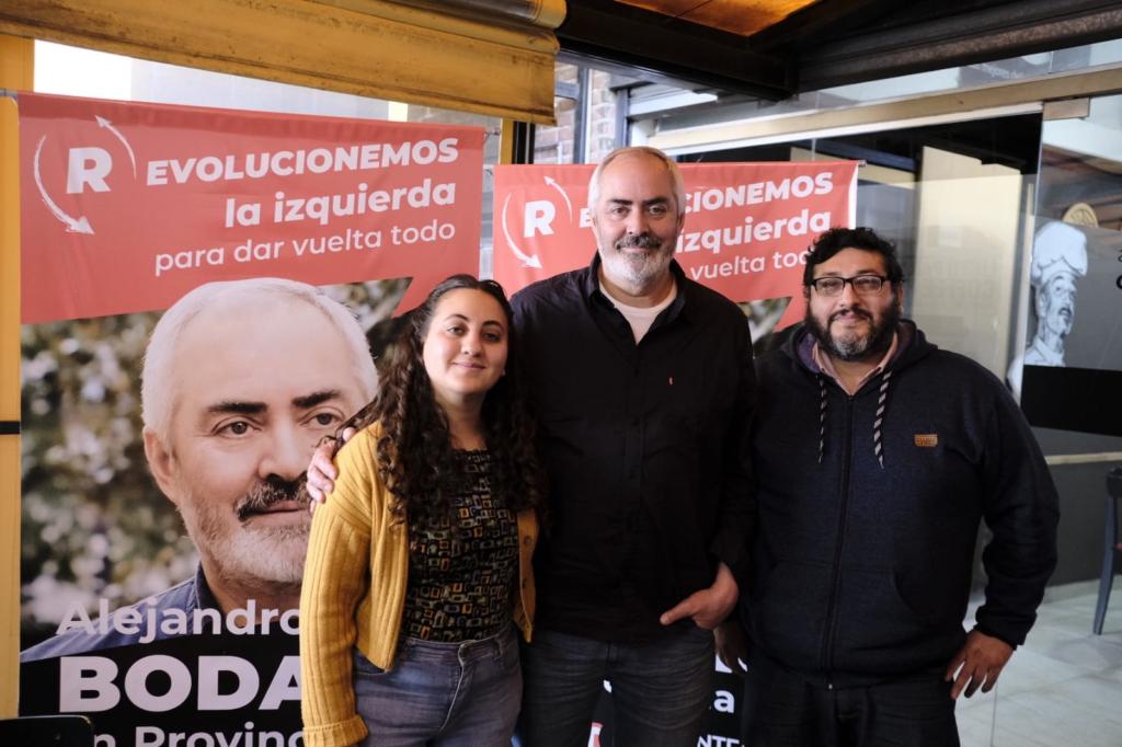 """Bodart del FITU en La Matanza: """"Si la izquierda evoluciona, puede ser una alternativa real"""""""
