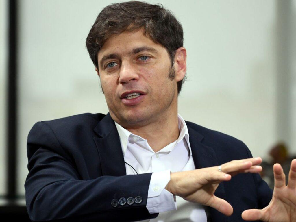 "Axel Kicillof: ""Santilli viene a la provincia a defender a la Ciudad"""